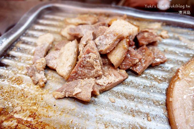 韓國濟洲島旅行【 韓定食+鐵板馬肉 & 黑毛豬烤肉大餐】Day1吃什麼? - yukiblog.tw