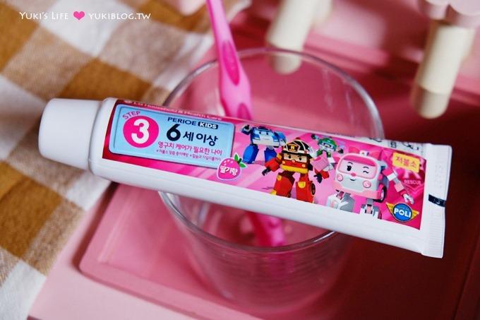 育兒好物【韓國倍麗兒POLI波力】救援小隊兒童牙膏、V型潔牙兒童牙刷~守護兒童的牙齒健康 - yukiblog.tw