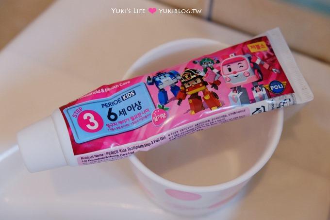 育儿好物【韩国倍丽儿POLI波力】救援小队儿童牙膏、V型洁牙儿童牙刷~守护儿童的牙齿健康 - yukiblog.tw
