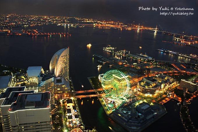 2013日本┃橫濱Yokohama Landmark Tower地標塔❤港未來區夜景