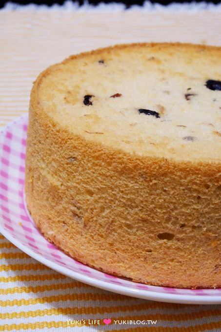 新手烘焙【戚風蛋糕】無油蜂蜜紅茶戚風&香蕉蔓越莓戚風 ~ 大人的味道❤ - yukiblog.tw