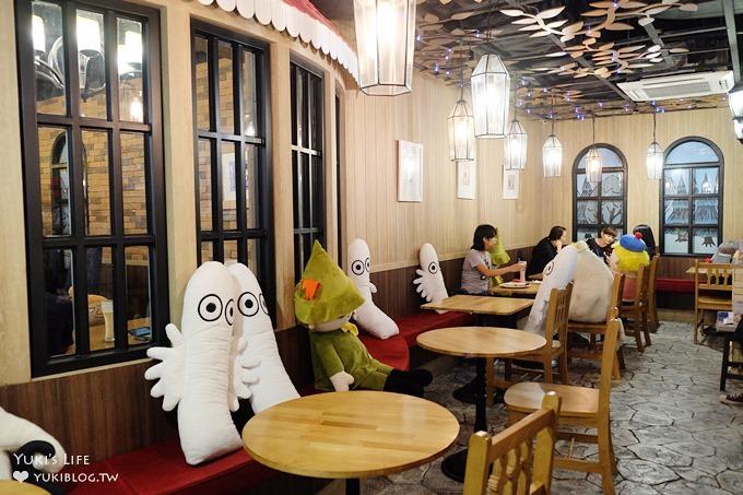 曼谷親子自由行【嚕嚕米主題餐廳Moomin Cafe】玩偶輪流坐檯的可愛餐廳(暹羅站Siam Center百貨) - yukiblog.tw