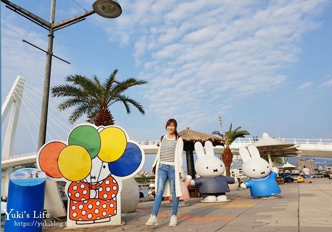 新北景点【淡水渔人码头】轻松看海亲子景点×米飞兔、南洋风草屋凉亭情人座 - yukiblog.tw