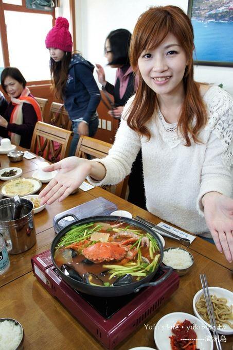 韓國濟洲島旅行【海鮮火鍋&燉豬大骨鍋】Day3吃什麼? - yukiblog.tw