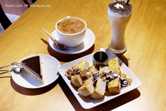 新莊美食下午茶【PB CAFE】原木風格溫馨平價早午餐、咖啡~有feel的小店 @新莊站 - yukiblog.tw