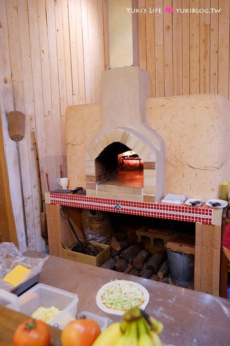 新竹食記【幸福味蕾柴燒窯烤披薩】清淡到不可思議的平價pizza - yukiblog.tw
