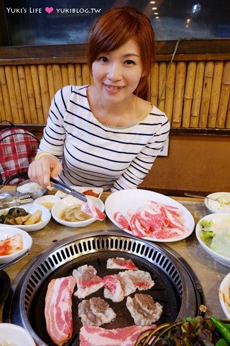 韓國首爾自由行【황토골平價烤肉】會說中文的便宜豐富烤肉店.帶小孩很方便(忠武路站)