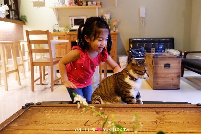 樹林美食下午茶【米蘭15●Fifteen Cafe】貓咪咖啡廳~有好吃手作蛋糕!我的私藏店家❤