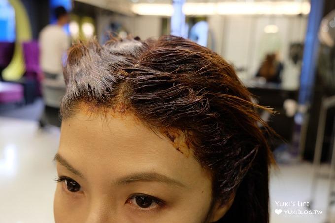 東區染髮推薦【M激賞髮型】我最愛的好元氣髮色×新一代法國肯葳強韌護髮日記@忠孝敦化站 - yukiblog.tw