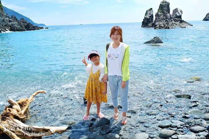 宜蘭景點【東澳粉鳥林】超美秘境海灘×免費親子景點、親子一日遊