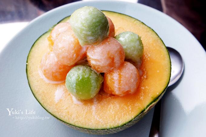 [台南美食]*泰成水果店‧本日主打哈蜜瓜瓜冰 ❤ 冰涼又鮮甜