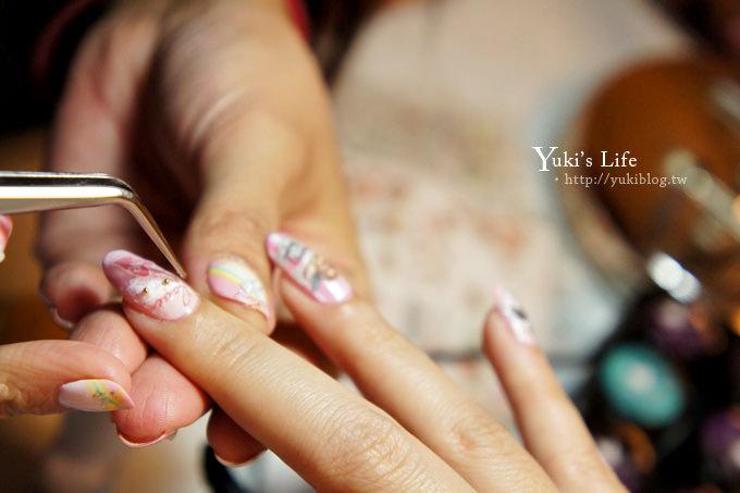 [光療美甲]板橋‧花季美甲Queeny Nail ~ 性感女神瑪麗蓮夢露與小天使❤ - yukiblog.tw