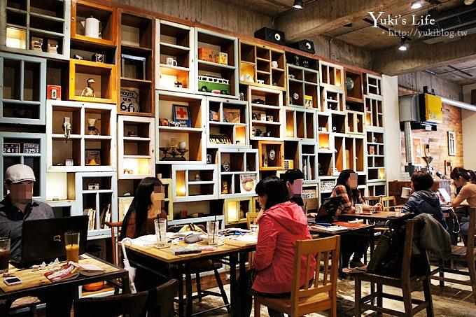 [台北食記]《Cafe Junkies‧小破爛咖啡館》個性の破爛風 ❤ 輕食.點心.下午茶 - yukiblog.tw