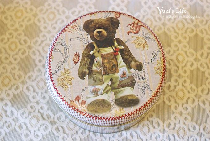 [香港美食]*伴手禮首選 ❤ 珍妮曲奇Jenny Bakery‧小熊鐵盒4MIX - yukiblog.tw