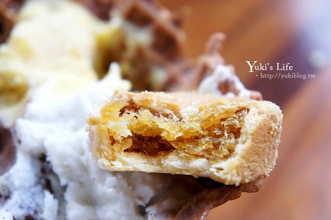 [台中美食]*宮原眼科吃冰淇淋 ~ 加蛋糕、鳳梨酥、餅乾.滿滿一碗好豐富! - yukiblog.tw