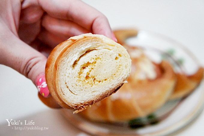 三峽老街康喜軒牛角麵包