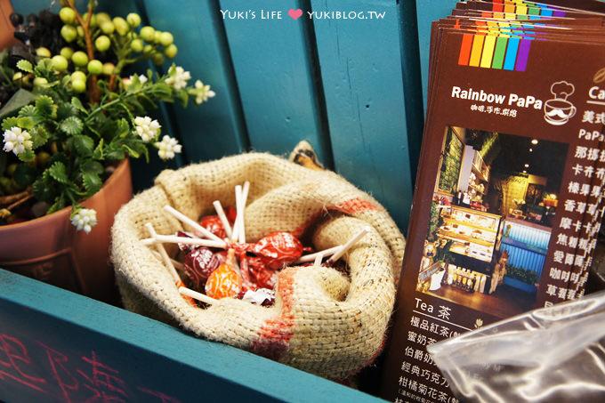 桃園中壢Rainbow PaPa咖啡