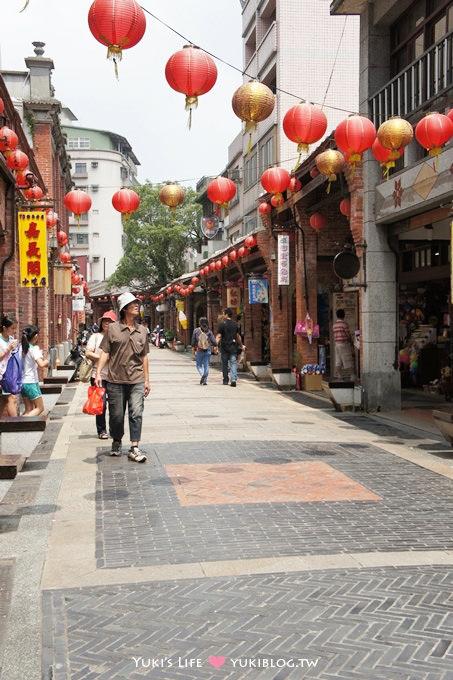 [台北旅遊]*深坑老街‧紅磚矮房歷史街區新風貌 ~ 假日好去處 - yukiblog.tw