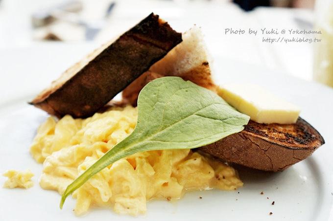 2013日本┃橫濱‧紅磚倉庫《bills》世界第一好吃的早餐鬆餅 (起司鬆餅佐香蕉×法式炒蛋烤吐司) - yukiblog.tw