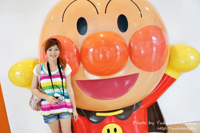 2013日本┃橫濱‧麵包超人博物館 ~ 充滿童趣捨不得走呀❤