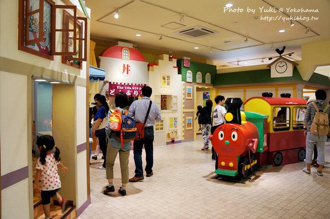 日本橫濱麵包超人博物館親子遊