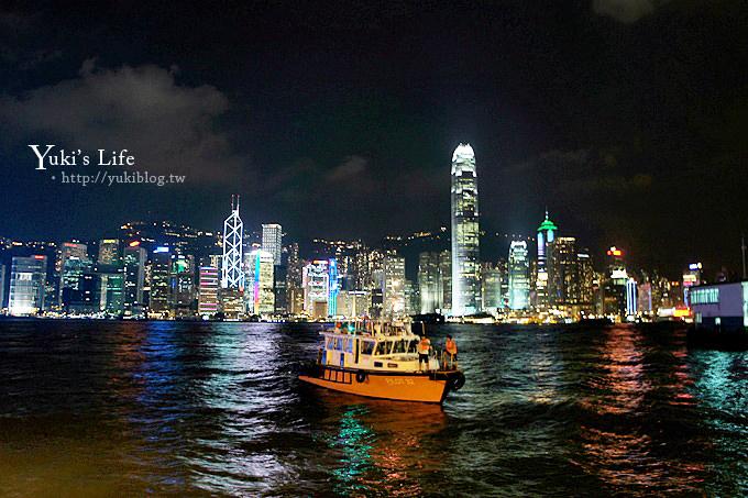 香港旅遊┃維多利亞港夜景‧真的好美! - yukiblog.tw