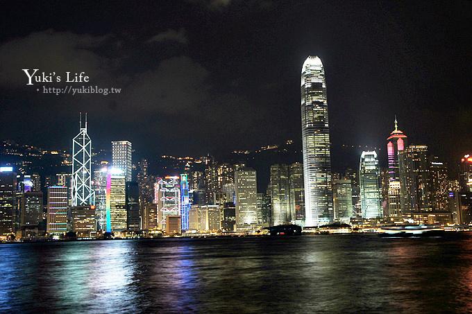 香港旅遊┃維多利亞港夜景‧真的好美!