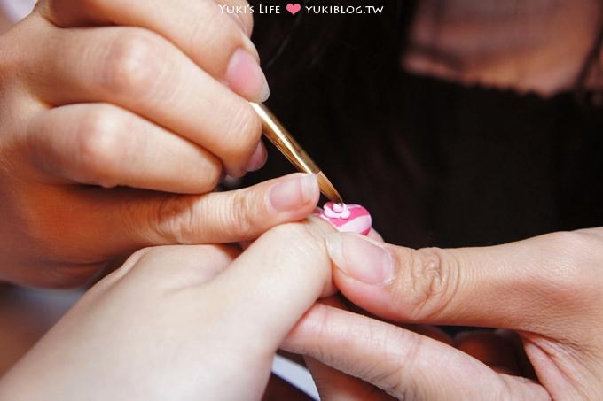 [光療美甲]板橋‧花季美甲Queeny Nail ~ 夏日繽紛‧馬卡龍❤ - yukiblog.tw