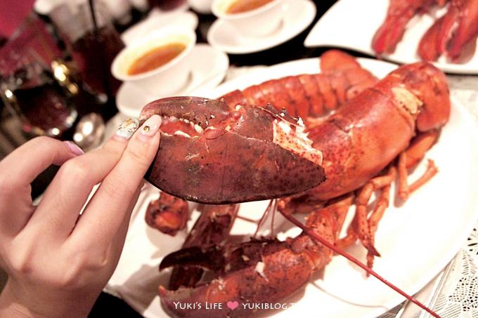 台北食記┃君品酒店●雲軒西餐廳〈加拿大活龍蝦吃到飽〉 這真是太幸福了! - yukiblog.tw