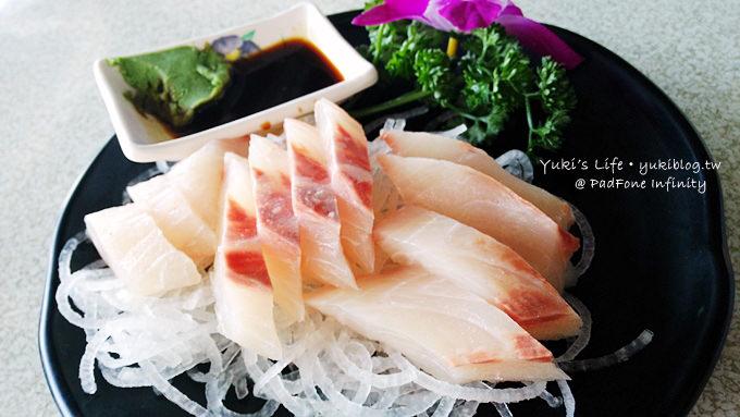 2013夏季北海岸之旅┃金山美食 ● 88號水碼頭海鮮餐廳  @新手機PadFone infinity - yukiblog.tw