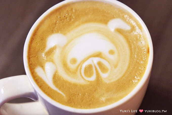 台北美食下午茶┃圖比咖啡‧Tutti cafe ~ 餐點多、可愛拉花拿鐵 @捷運松江南京站