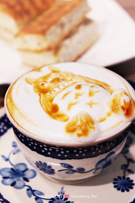 高雄美食下午茶┃〈My Cafi‧我的咖啡〉 豆豆龍&小熊維尼立體拉花超卡哇伊❤(可指定拉花圖案吶!) - yukiblog.tw