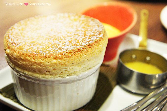 台北美食下午茶❤咖朵咖啡Caldo Cafe‧美味舒芙蕾&#038;熔岩蛋糕 >////< (近忠孝復興站)