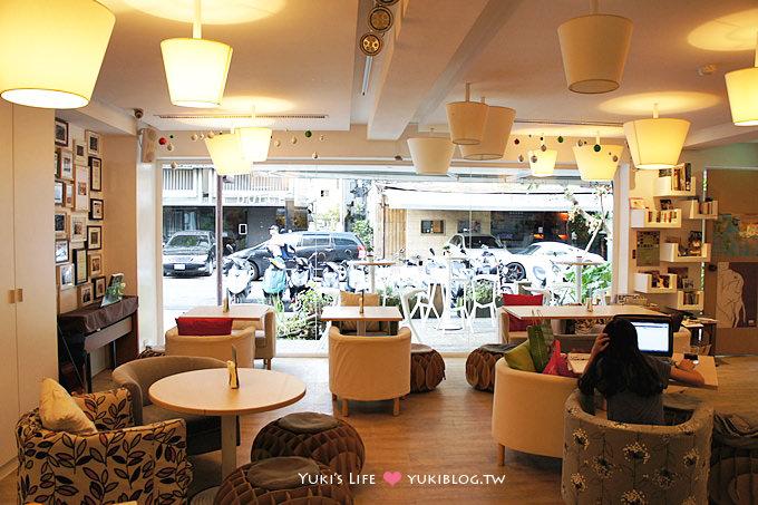 台北美食下午茶┃A House ‧清爽的午茶 ~ 近東區忠孝復興站