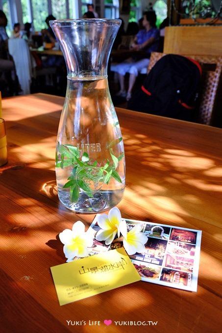 桃園龍潭【山景湖水岸景觀餐廳】下午茶很美味❤婚紗取景祕密花園、大草皮~石門水庫美食 - yukiblog.tw