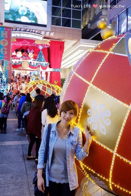 【2013香港聖誕節】繽紛冬日節@尖沙咀‧海港城「迪士尼華麗聖誕大宅」 - yukiblog.tw