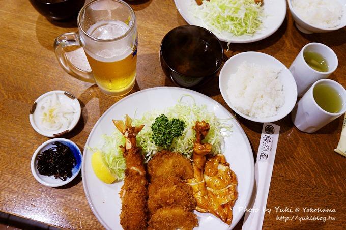 2013日本┃横滨●胜烈庵 炸猪排定食 @ 马车道老店