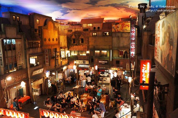 2013日本【新橫濱拉麵博物館】仿古街道超好拍& 伴手禮商店
