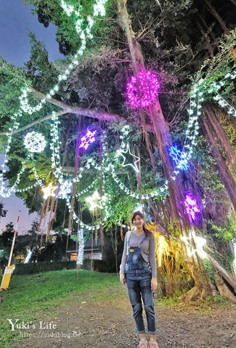《2018宜蘭奇幻耶誕村》浪漫童趣造景帶你逛透透!月亮盪鞦韆×小精靈×禮物聖誕樹×旋轉木馬兒童歡樂廣場~ - yukiblog.tw