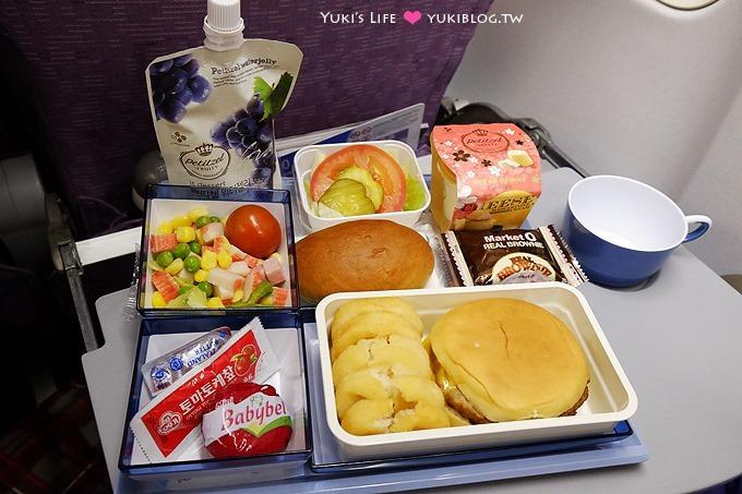 首爾自由行【大韓航空】兒童餐有誠意、早去晚回不浪費時間