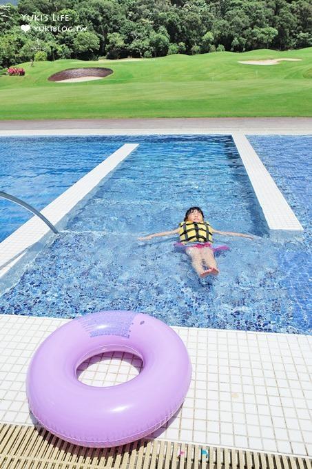 苗栗休閒地標【古斯托義式餐廳】五星級私房玩水游泳親子景點(用餐即可享受全國花園鄉村俱樂部兒童遊戲室、泳池設施) - yukiblog.tw