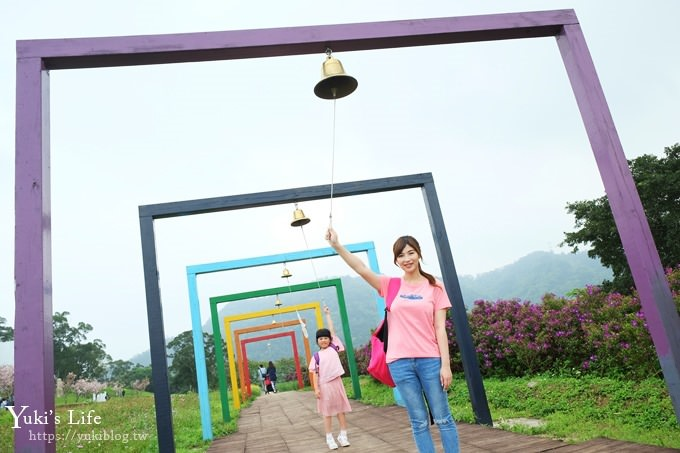 桃園景點【大溪花海農場】摩艾石像園區、四季都美親子同遊好去處 - yukiblog.tw