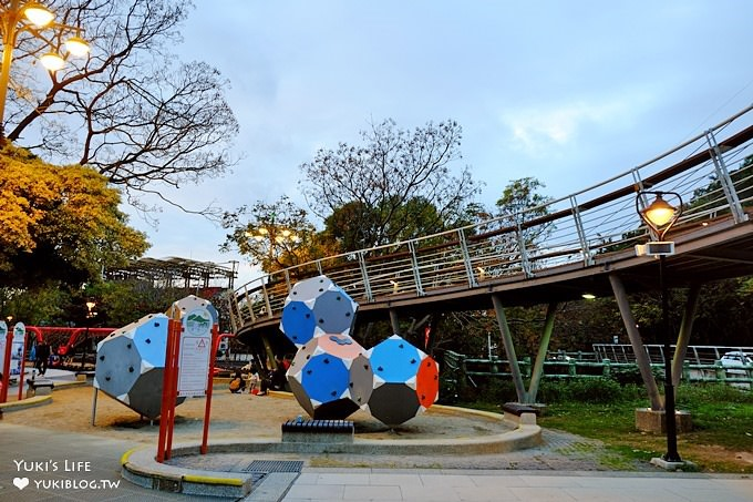 台中免費親子景點《鰲峰山運動公園》競合體驗遊戲場×遊玩攻略全公開! - yukiblog.tw