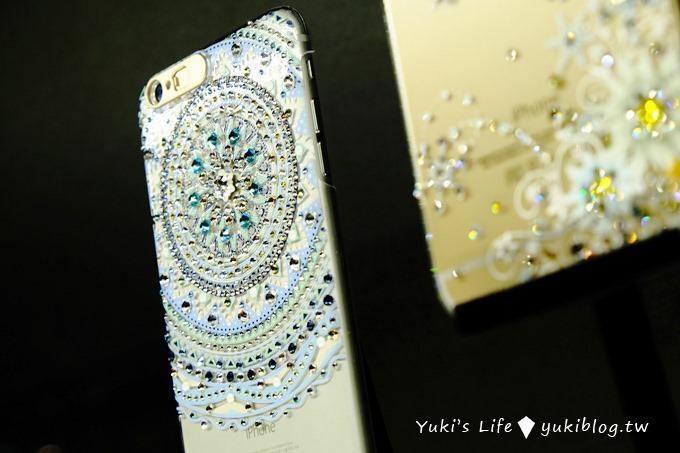 【施華洛世奇120周年特展✕apbs®施華洛世奇展覽】限定版璀璨水晶手機鑽殼iPhone6S/iPhone6S+ Yukis Life by yukiblog.tw