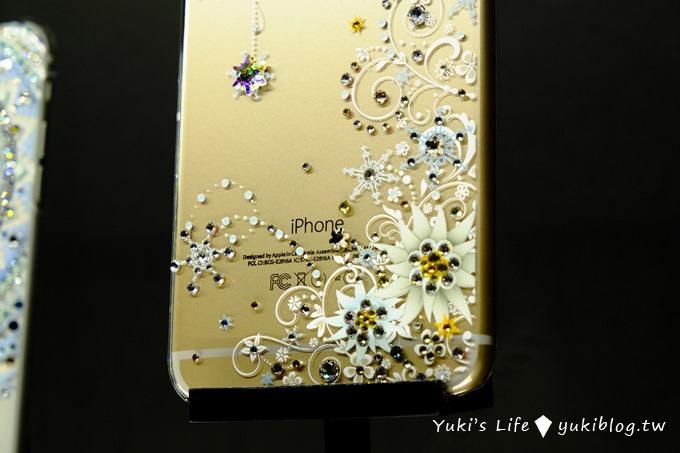 【施華洛世奇120周年特展✕apbs®施華洛世奇展覽】限定版璀璨水晶手機鑽殼iPhone6S/iPhone6S+ - yukiblog.tw