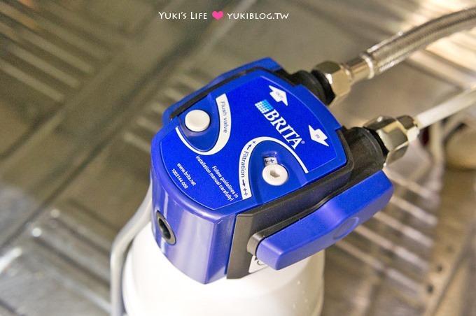 居家必備【德國BRITA櫥下型濾水器(On Line Active Plus)】輕巧、安裝方便 - yukiblog.tw