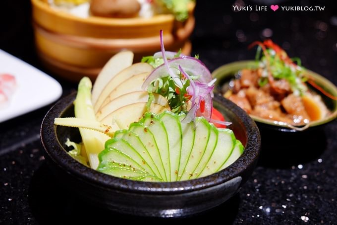 台北【鼎膾一品涮涮鍋(信義店)】限定超級無敵海景生魚丼、打卡$388、真材實料的大海味~信義安和站 - yukiblog.tw