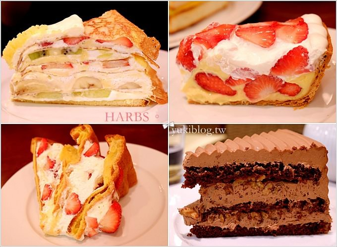大阪旅游【HARBS】日本蛋糕名店●巨人国的梦幻水果甜点下午茶 @难波parks