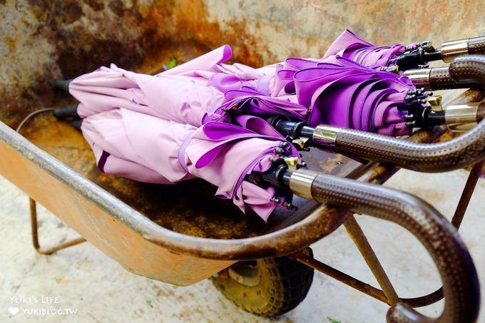 苗栗西湖景觀餐廳【噢哈娜咖啡屋】紫色浪漫愛情傘拍照景點×紫藤花許願花賞花好去處! - yukiblog.tw