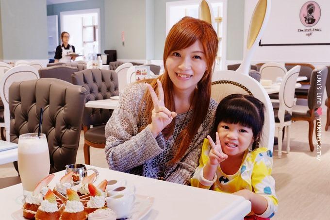 台北美食【Dazzling Cafe Kiwi】哇!有兔子耳朵椅❤台北車站微風廣場店